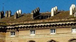 Crolla il tetto della Reggia di Caserta
