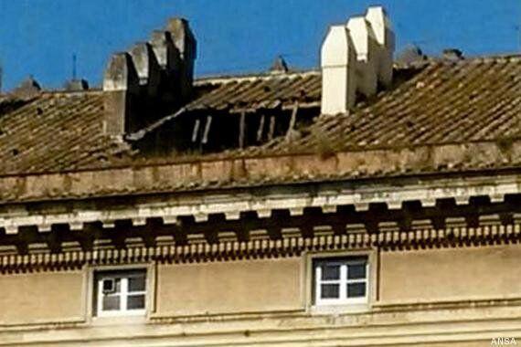 Reggia di Caserta, crolla il tetto. La sovraintendenza del Polo Museale: