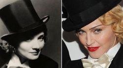Madonna come Marlene Dietrich