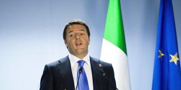 Matteo Renzi a Strasburgo apre il semestre europeo: