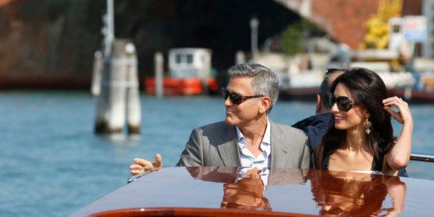 Clooney e Amal, che fastidio non poter dire nulla di
