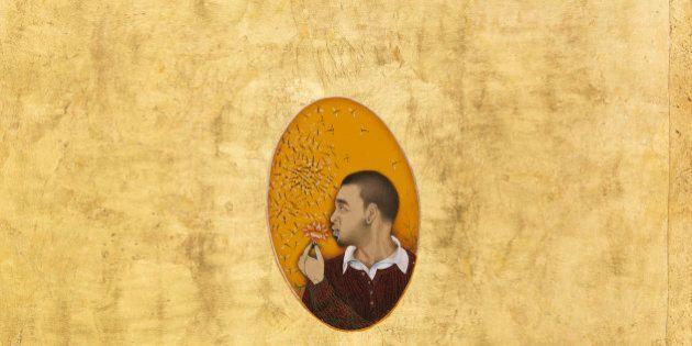 Mostre: Imran Qureshi, tra miniature e dripping di sangue. Dal 25 settembre al Macro di
