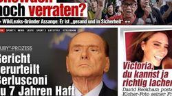 Sentenza Ruby: la condanna di Silvio Berlusconi fa il giro del mondo