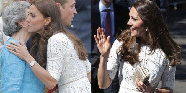Kate Middlleton e William d'Inghilterra a Wimbledon: la duchessa con lo stesso abito indossato in Nuova...