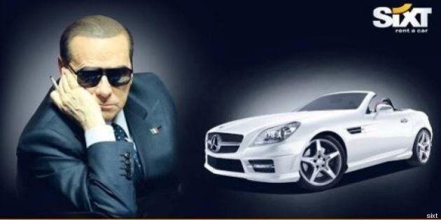 Silvio Berlusconi, in Germania la pubblicità che ironizza sulla sentenza Ruby