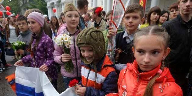 Crisi Ucraina, Vladimir Putin sfida la Nato: è in Crimea per la festa della vittoria dell'Armata rossa