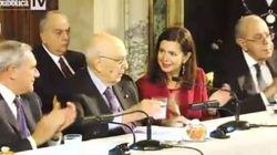 Fuorionda di Napolitano: