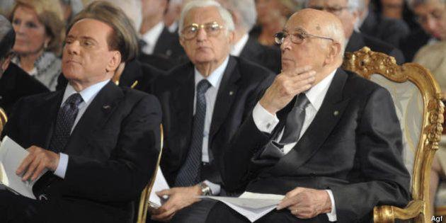 Silvio Berlusconi da Giorgio Napolitano si sfoga sui pm. Ma