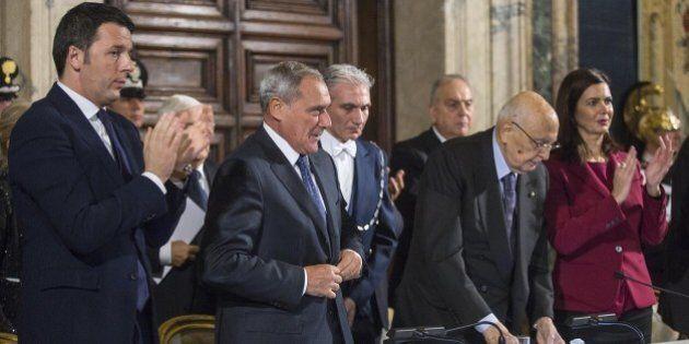 Discorso Napolitano: Matteo Renzi