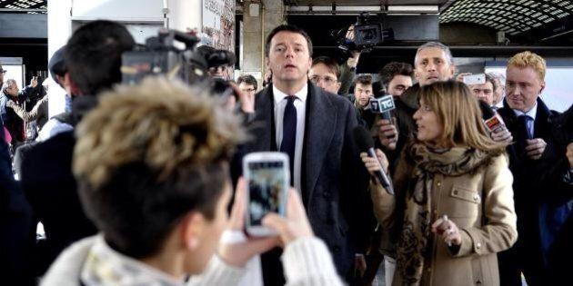 Matteo Renzi, il primo giorno del premier incaricato. Dai saluti in stazione all'addio commosso a Palazzo