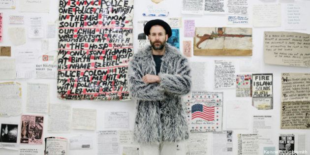 Kenneth Goldsmith mette il web in mostra: