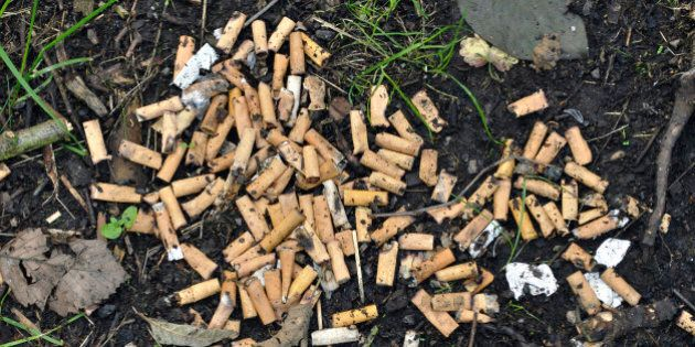 Vietato gettare a terra sigarette e gomme. Multe dai 30 ai 150 euro. Il disegno di legge sulla Green