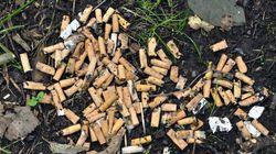 Sarà vietato gettare sigarette e
