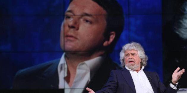 Beppe Grillo: il dialogo con Matteo Renzi va verso l'archiviazione, a rischio l'incontro di lunedì