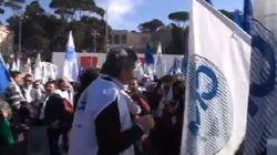 La protesta del popolo delle partite Iva (DIRETTA