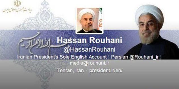 Iran, Hassan Rohani su Twitter dialoga con il cofondatore del social network: