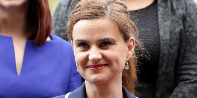 Batley and Spen MP Jo Cox is seen in Westminster May 12, 2015. Yui Mok/Press Association/Handout via REUTERS  ATTENTION EDITO