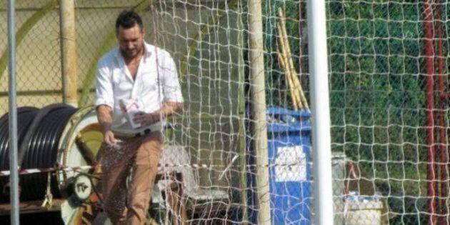 Marco Sattin come Oronzo Canà: getta il sale dietro la porta avversaria. Il Monselice fa 6 gol