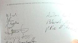 Nella lista in mano a Quagliariello i nomi dei 23
