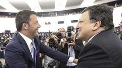 Renzi incontra Barroso a Villa Madama a Roma