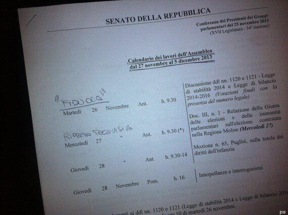 Decadenza Silvio Berlusconi, è deciso: si vota domani alle