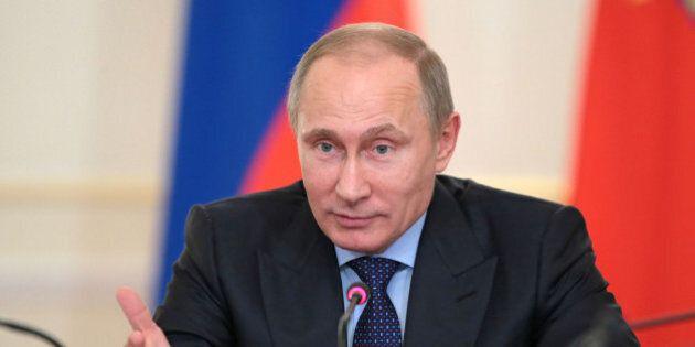 Valdimir Putin incontra Enrico Letta. Il premier: