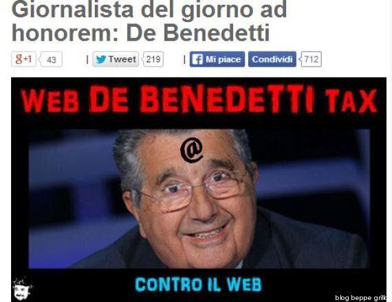 Web tax, pressing delle lobby americane per boicottare la legge. Beppe Grillo si scaglia contro Carlo...