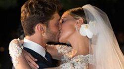 Belen Rodriguez e Stefano De Martino, le foto del matrimonio su Facebook