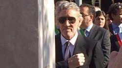Roger Waters ad Anzio per la cittadinanza onoraria:
