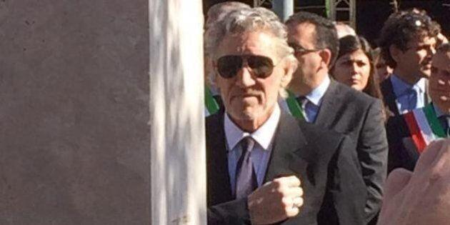 Roger Waters ad Anzio per la cittadinanza onoraria (FOTO)