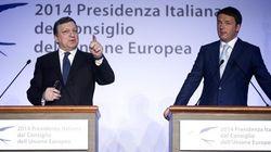 Renzi incassa il sostegno di Barroso e ricuce con Merkel.
