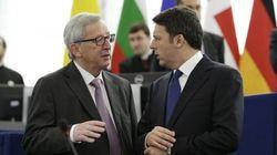 Renzi furioso con Juncker: il suo piano è