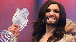 La drag queen barbuta trionfa all'Eurovision (FOTO,