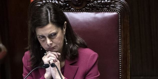 Laura Boldrini parla della successione a Giorgio Napolitano: