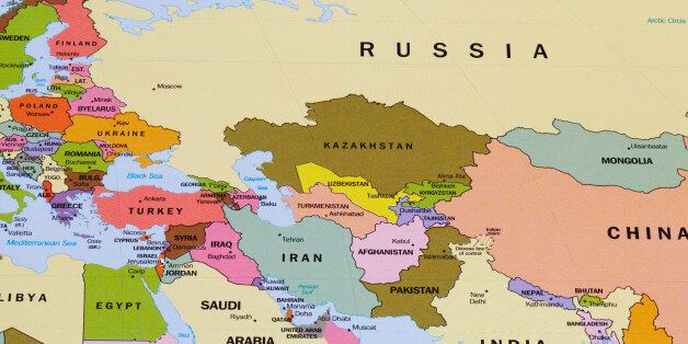 russia middle east map Nato And Russia The Many Unknowns Huffpost