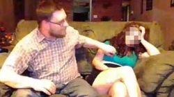 Spoglia la moglie in diretta streaming