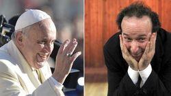 Papa Francesco telefona a Benigni (FOTO,