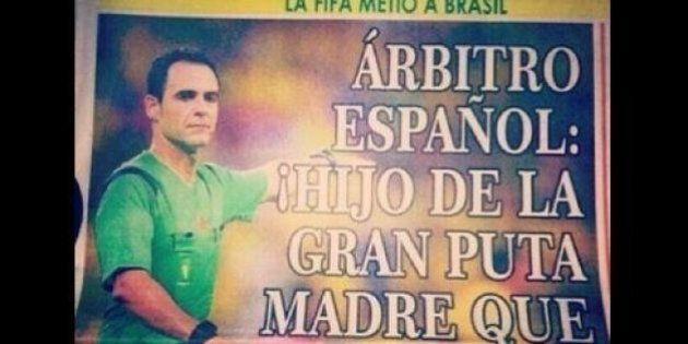 Mondiali 2014: giornale colombiano attacca Carlos Velasco l'arbitro di Brasile-Colombia: