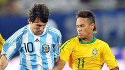 Neymar lascia il ritiro in elicottero, Messi vola in
