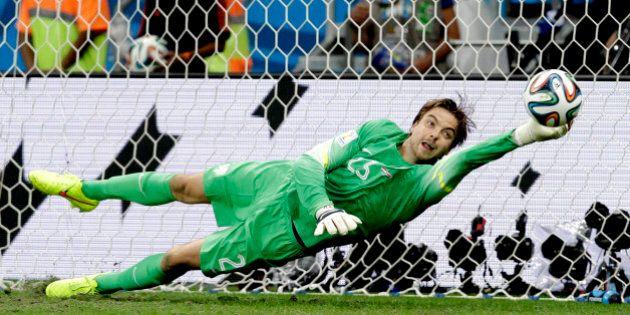 Tim Krul eroe di Olanda Costa Rica Mondiali 2014: il pararigori che usa l'astuzia prima del talento (FOTO,