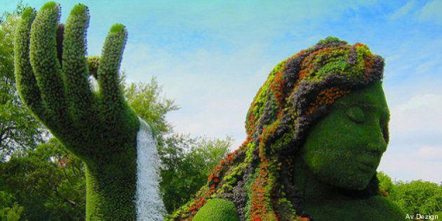 Il Mosaïcultures Internationales: a Montreal le sculture tutte naturali di 20 artisti della