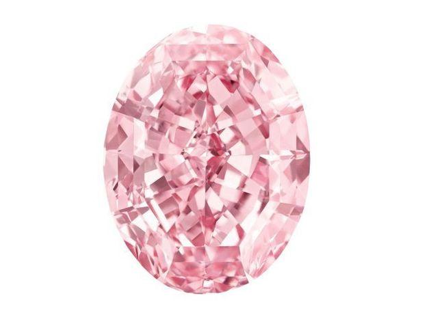 All'asta il diamante rosa da 60 carati ( e sessanta milioni di dollari)