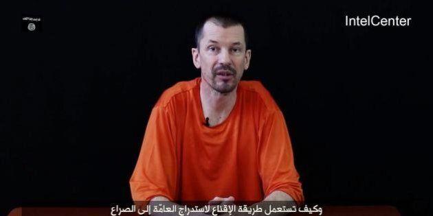 Isis, John Cantlie in video si rivolge agli Usa: