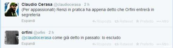 Matteo Renzi resta segretario ma allarga la segreteria anche alla