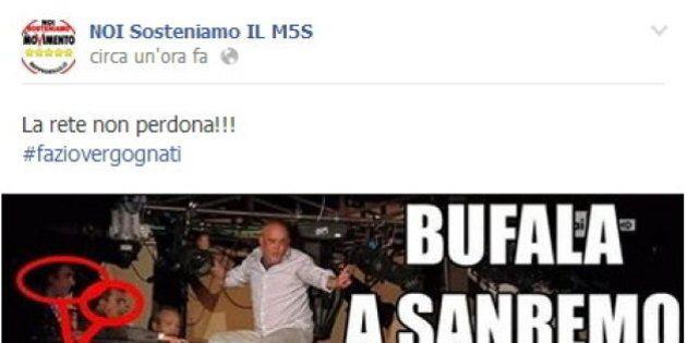 Operai Festival Sanremo, Beppe Grillo e attivisti: