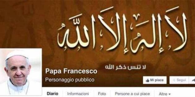 Papa Francesco, attaccata la pagina Facebook non ufficiale: