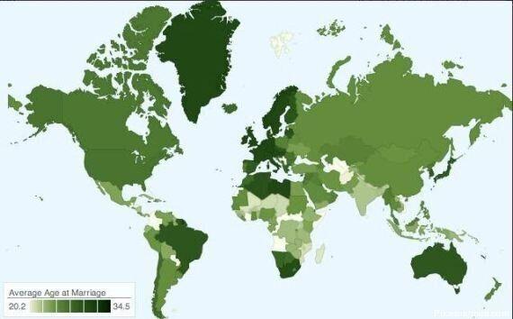 Matrimonio, ecco la mappa per capire a che età vi sposerete