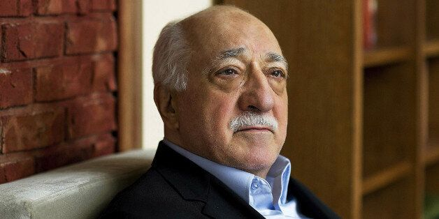 FILE - In this March 15, 2014, file photo, Turkish Islamic preacher Fethullah Gulen is pictured at his residence in Saylorsbu