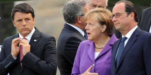 Angela Merkel indispettita dall'asse Italia-Francia. Dietro lo strappo anti-austerity, il braccio di...