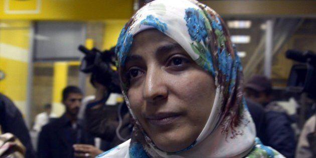 Isis; Tawakkul Karman, Nobel per la Pace, all'HuffPost: